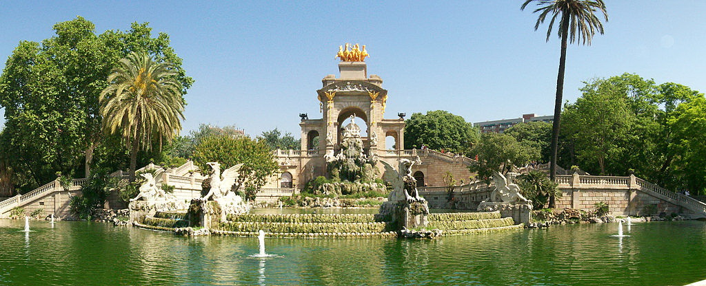 Parc de la Ciutadella Foto: By Townie (Own work) [CC-BY-SA-3.0 (http://creativecommons.org/licenses/by-sa/3.0) or GFDL (http://www.gnu.org/copyleft/fdl.html)], via Wikimedia Commons
