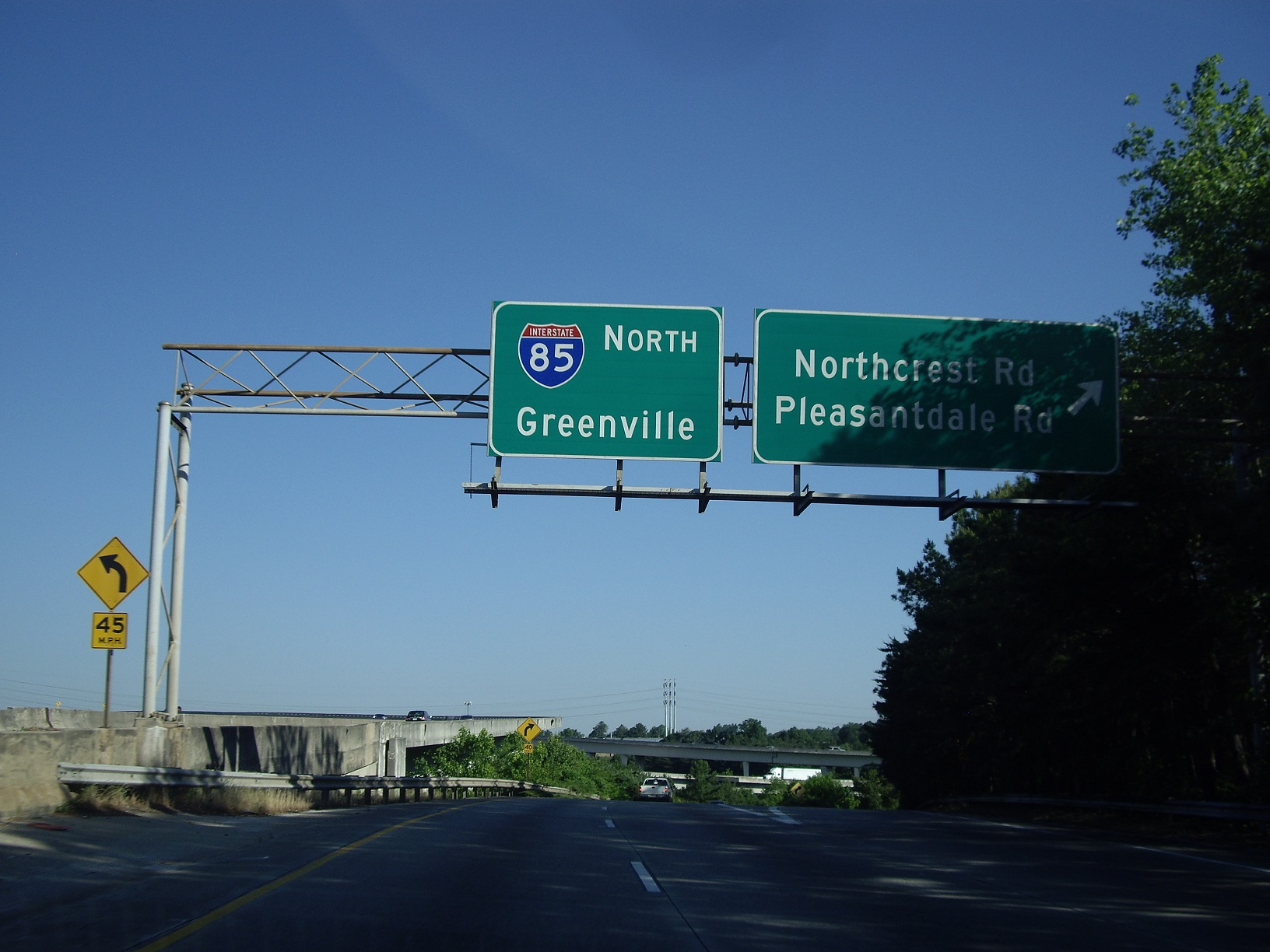 I-85 North Greenville