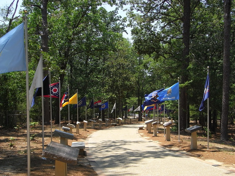 Walk of American Stones and Flags