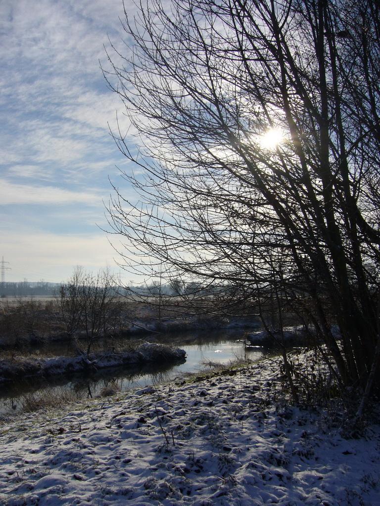 ... winterliche Lichtspiele ...