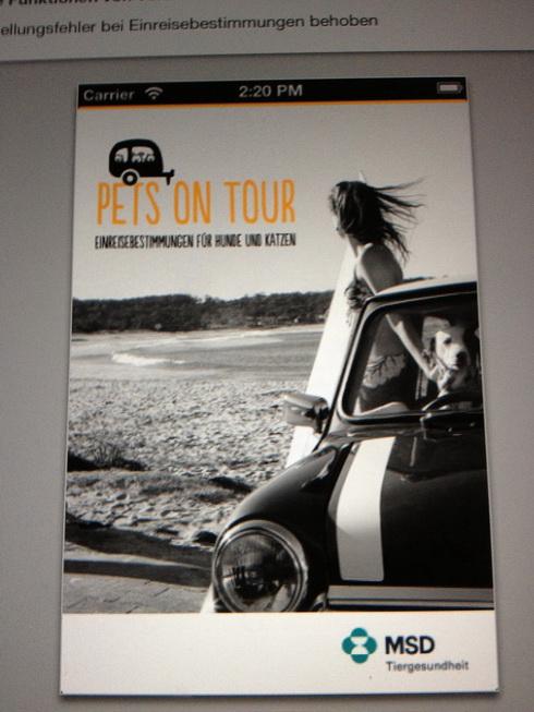 Pets on Tour - Einreisebestimmungen für Hunde und Katzen