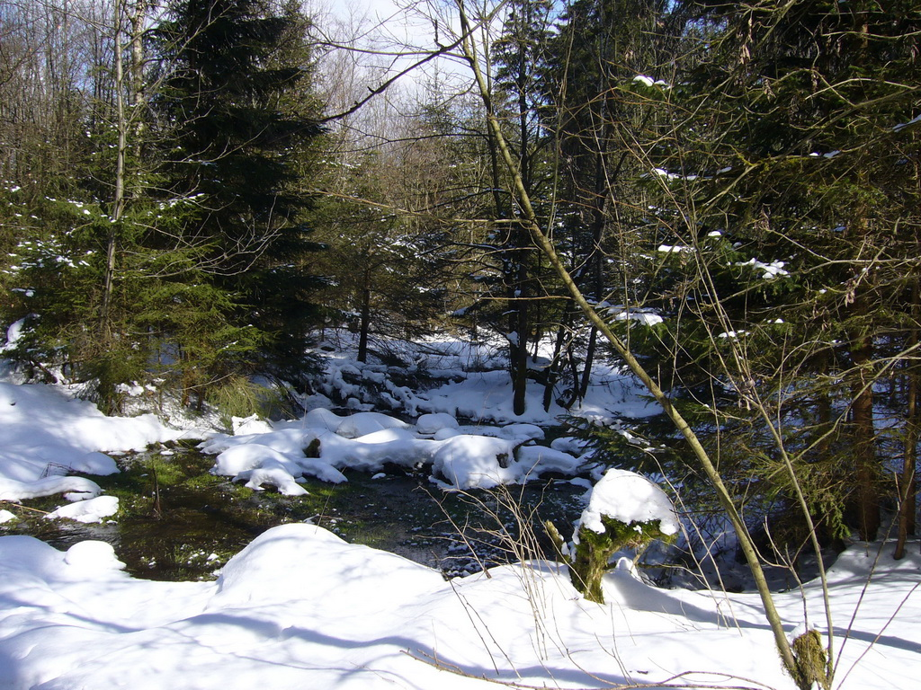 ... ein Meer aus Schnee und Eis ...
