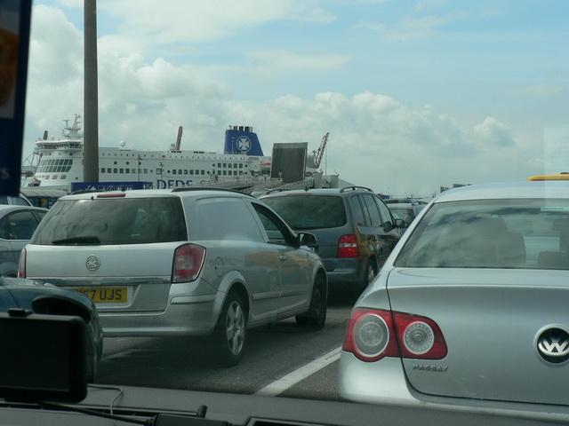 Die Fähren sind immer gut gebucht!Foto: KW
