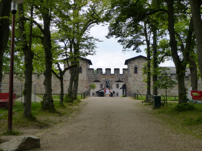 Haupteingang des Limeskastells Saalburg