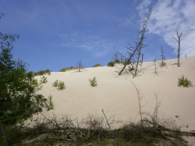 Der Sand verschlingt alles