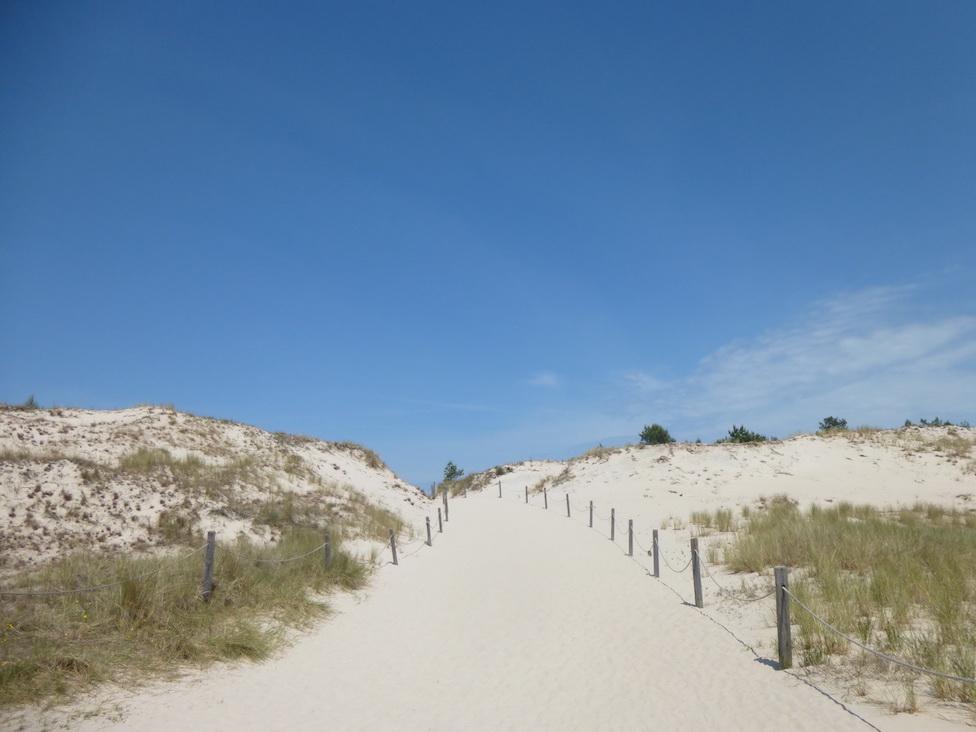 Der Weg zurück führt über Sand