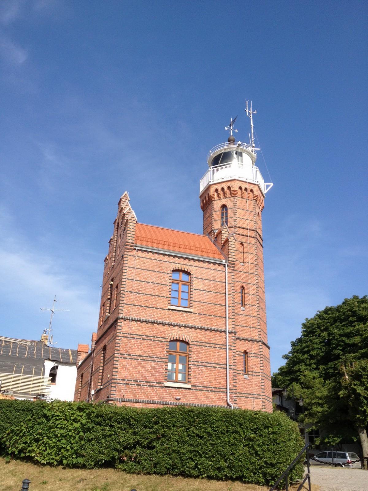 Der Leuchtturm von Stolpmünde