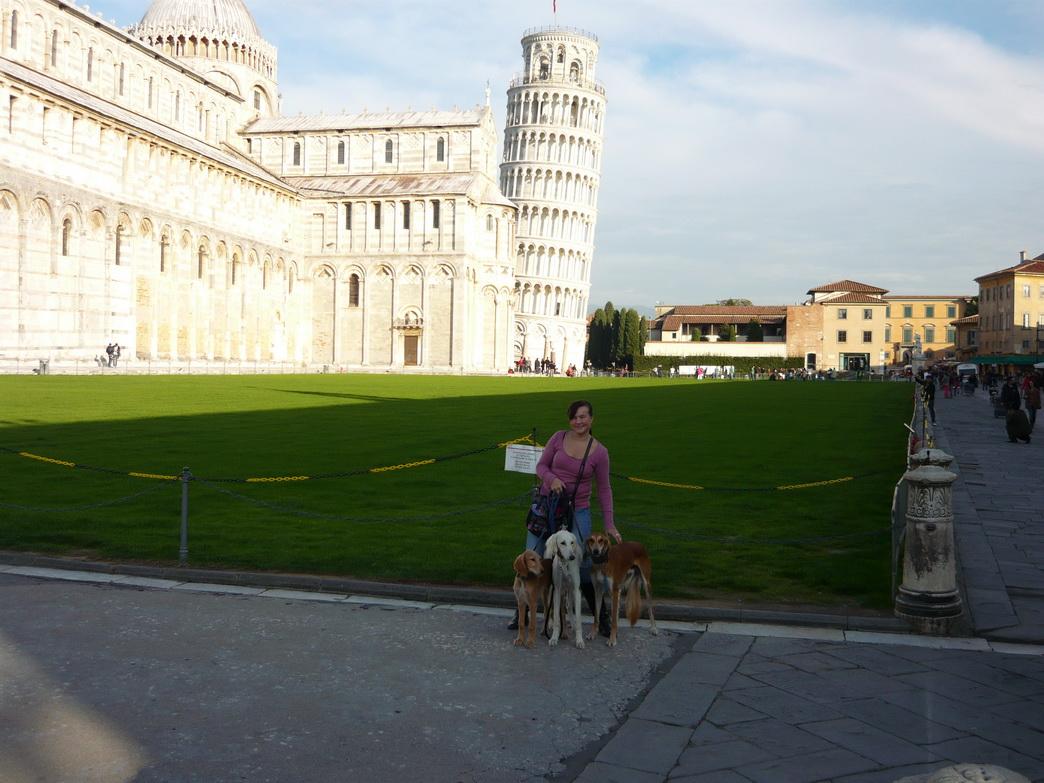 ... zu Gast in Pisa ... Foto: Stephanie Reuter