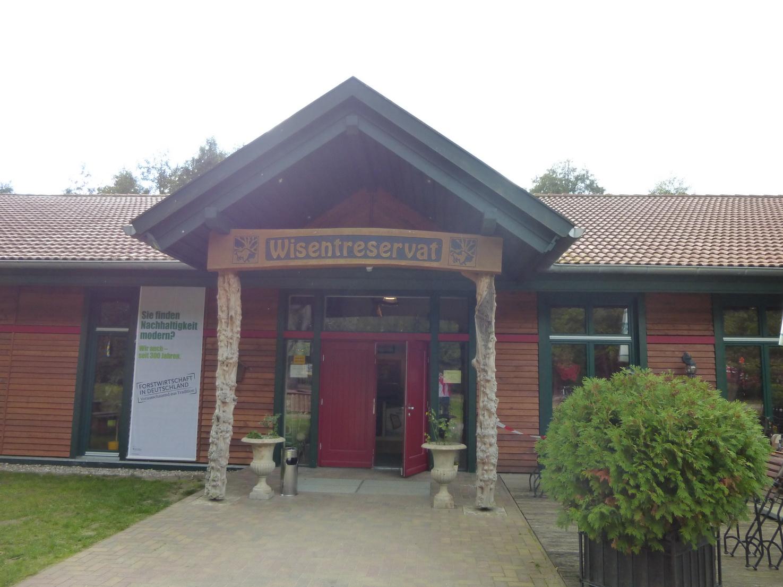 Infocenter und Restaurant