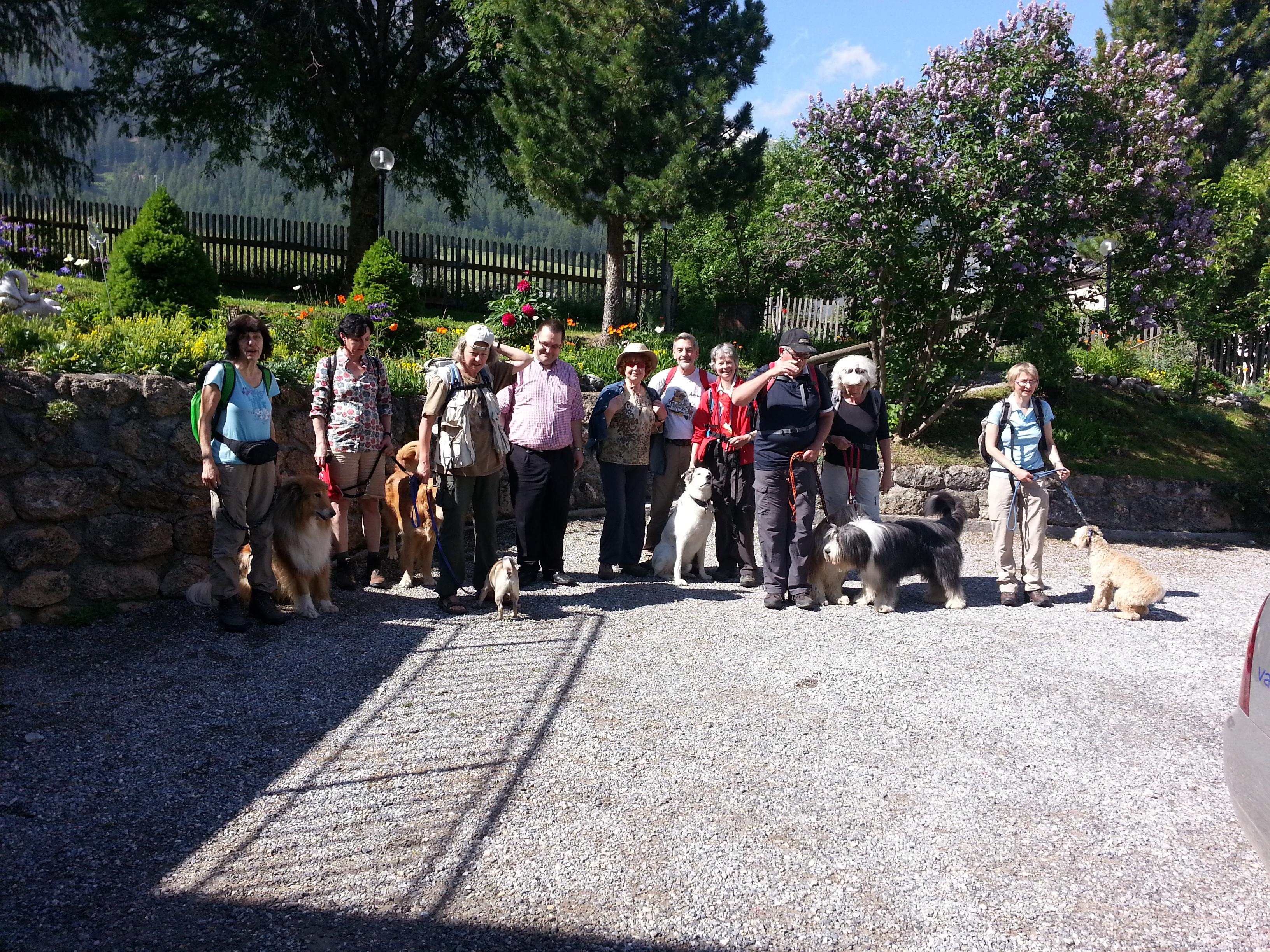 Hundeurlaub im Schweizerhof Foto: Schweizerhof Sta. Maria