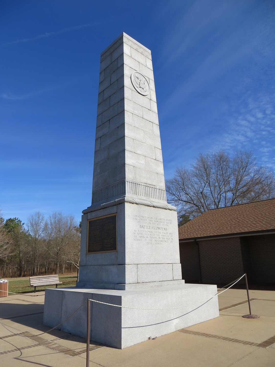 Cowpens National Battlefield, South Carolina, Eingang