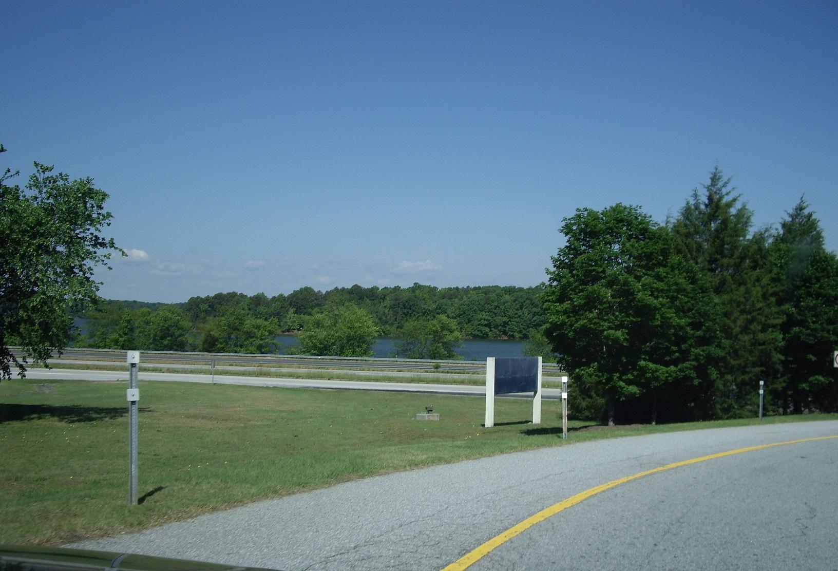 Sicht auf den Lake Hartwell