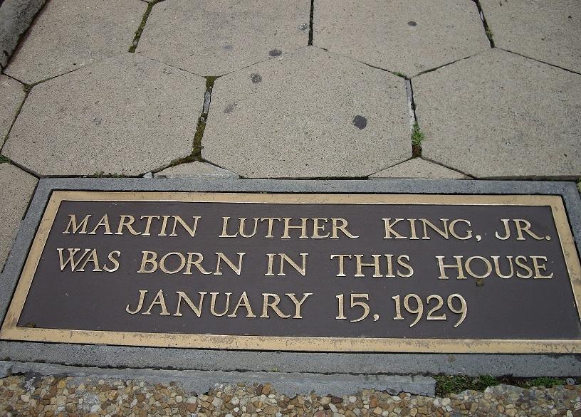 Martin Luther King wurde am 15. Januar 1929 in diesem Haus geboren
