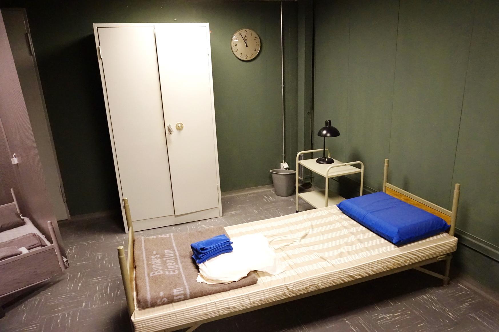 Schlafzimmer des Bundespräsidenten