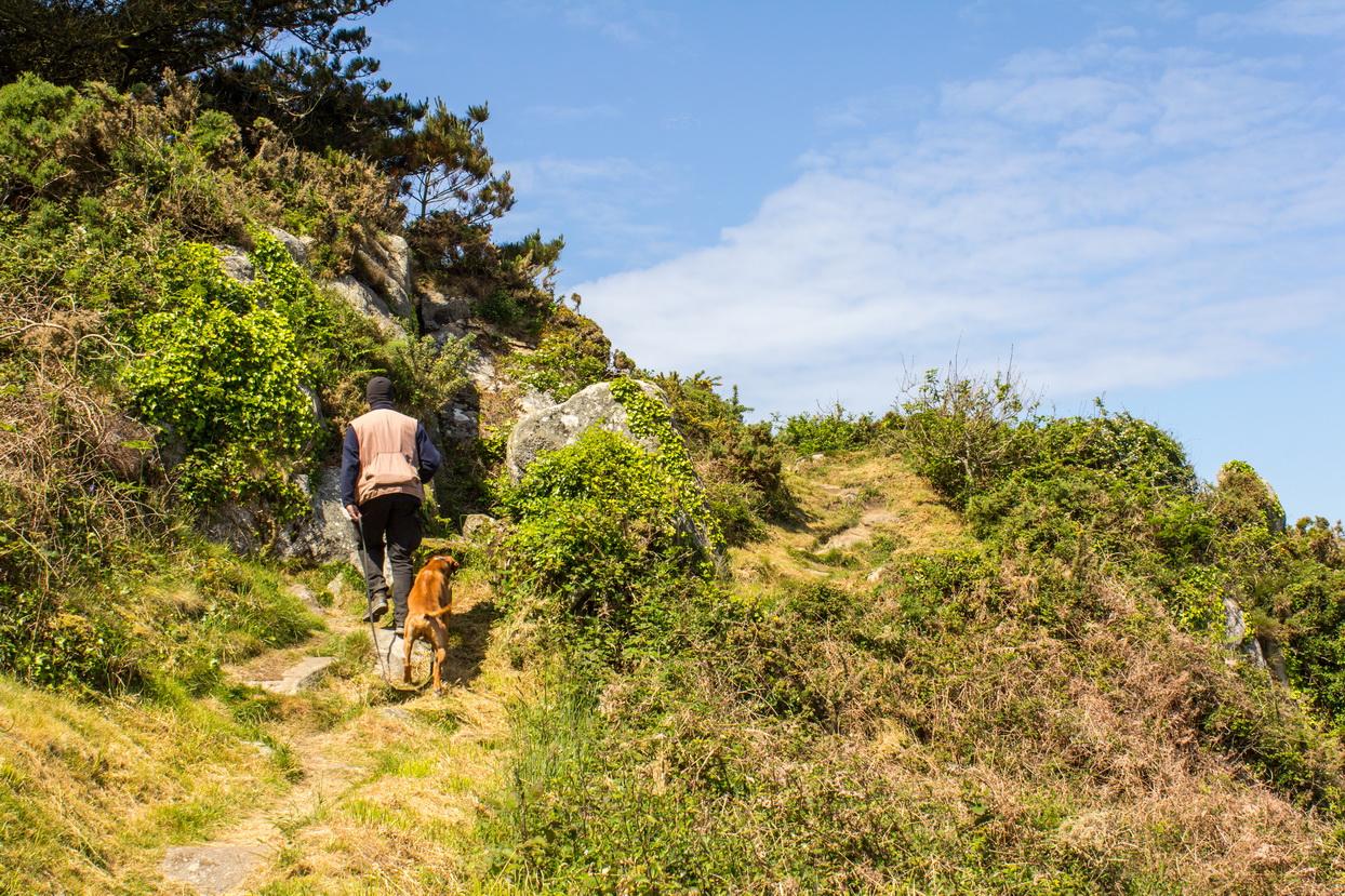 Kerguian auf der Halbinsel Cap-Sizun in der Bretagne