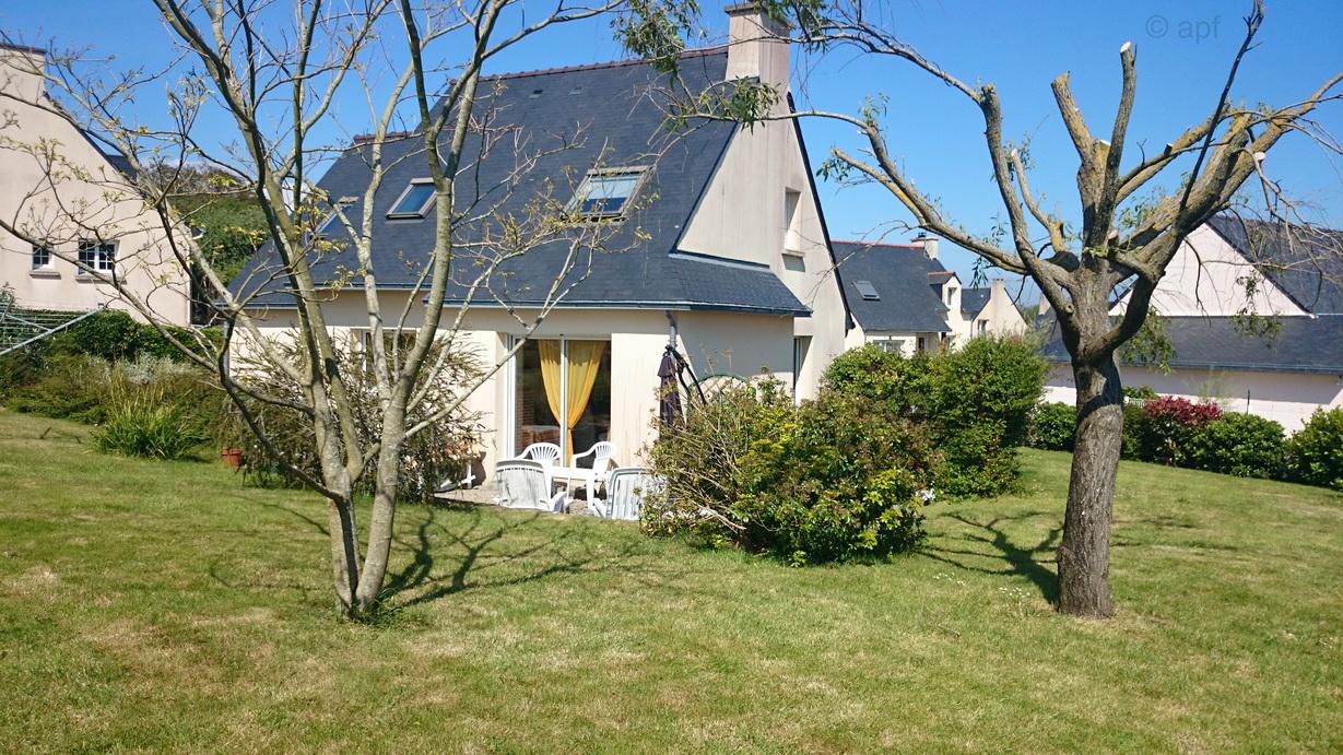 Ferienhaus in Tréogat in der Bretagne