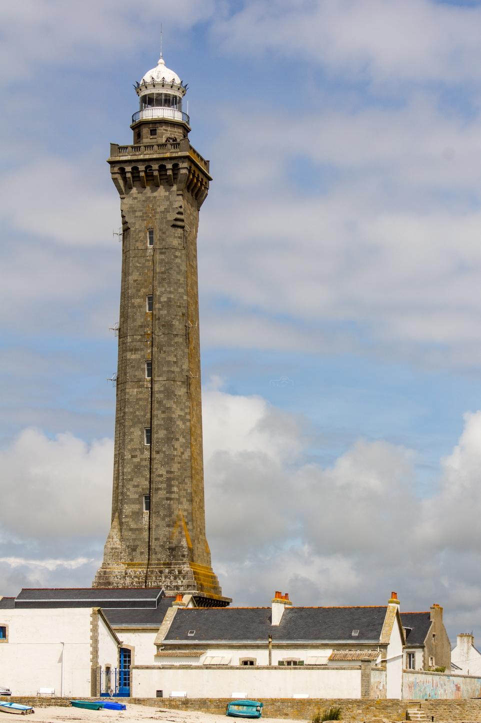 Phare d'Eckmul in Penmarch / Leuchtturm von Eckmühl in der Bretagne
