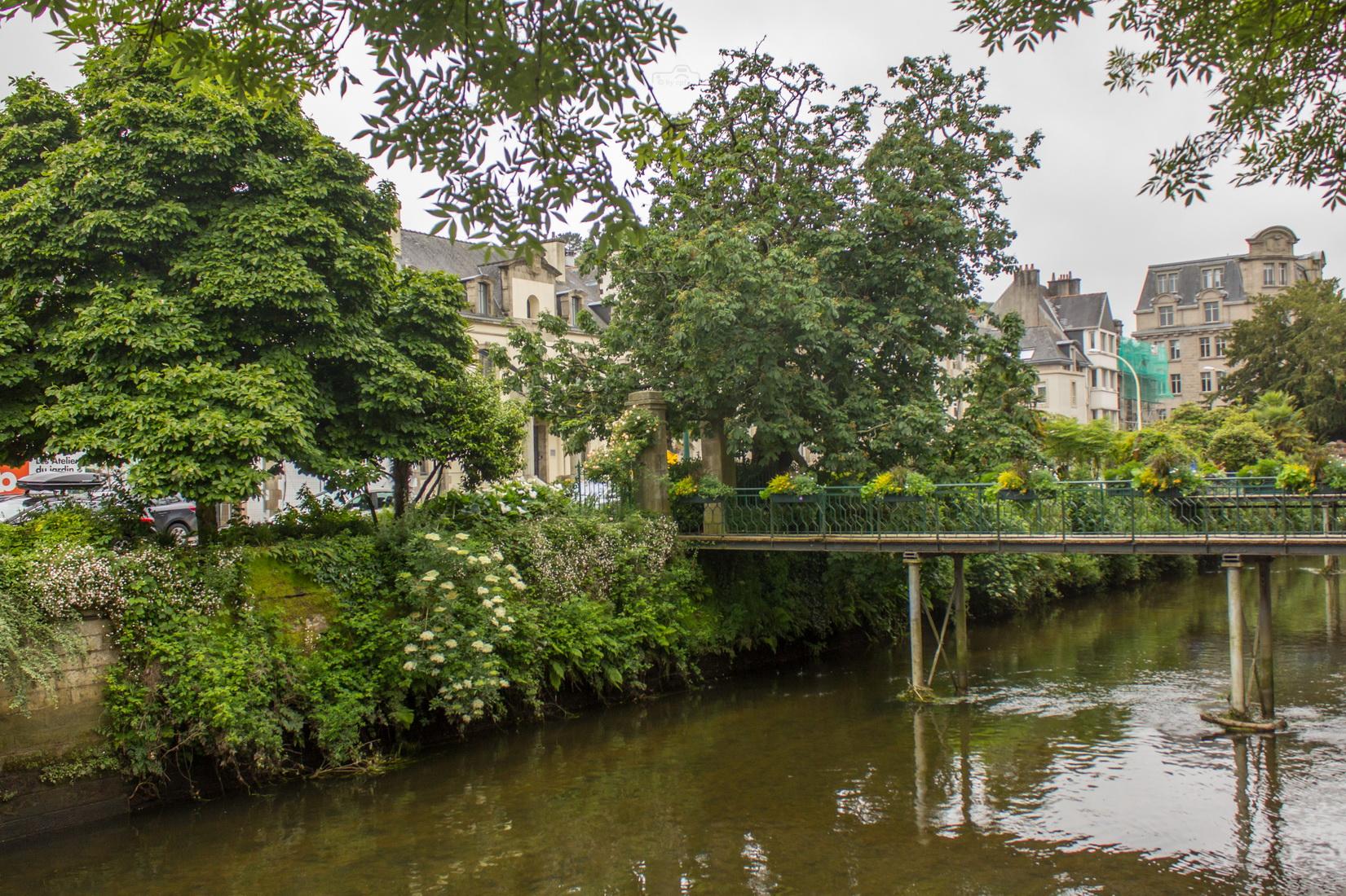 Quimper ist die Hauptstadt des Département Finistère in der Bretagne