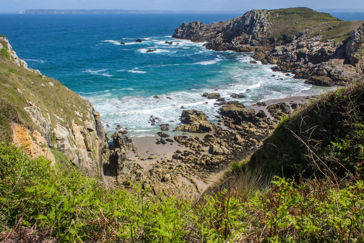 Steilküste von Cap-Sizun in der Bretagne