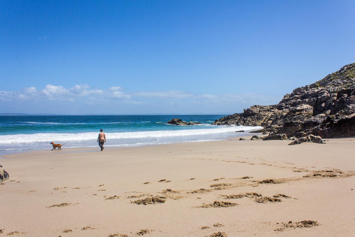 Strandbucht auf Cap-Sizun in der Bretagne