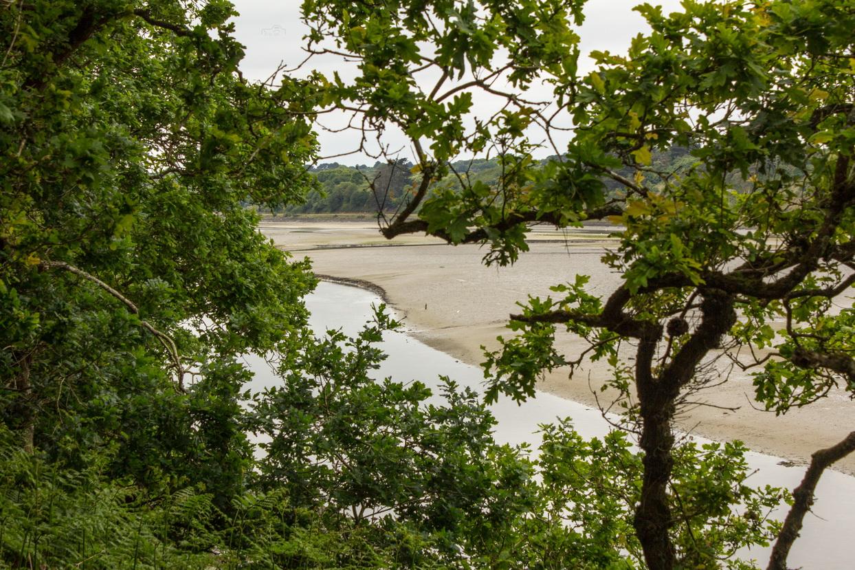 Der Fluss Le Goyen in der Bretagne