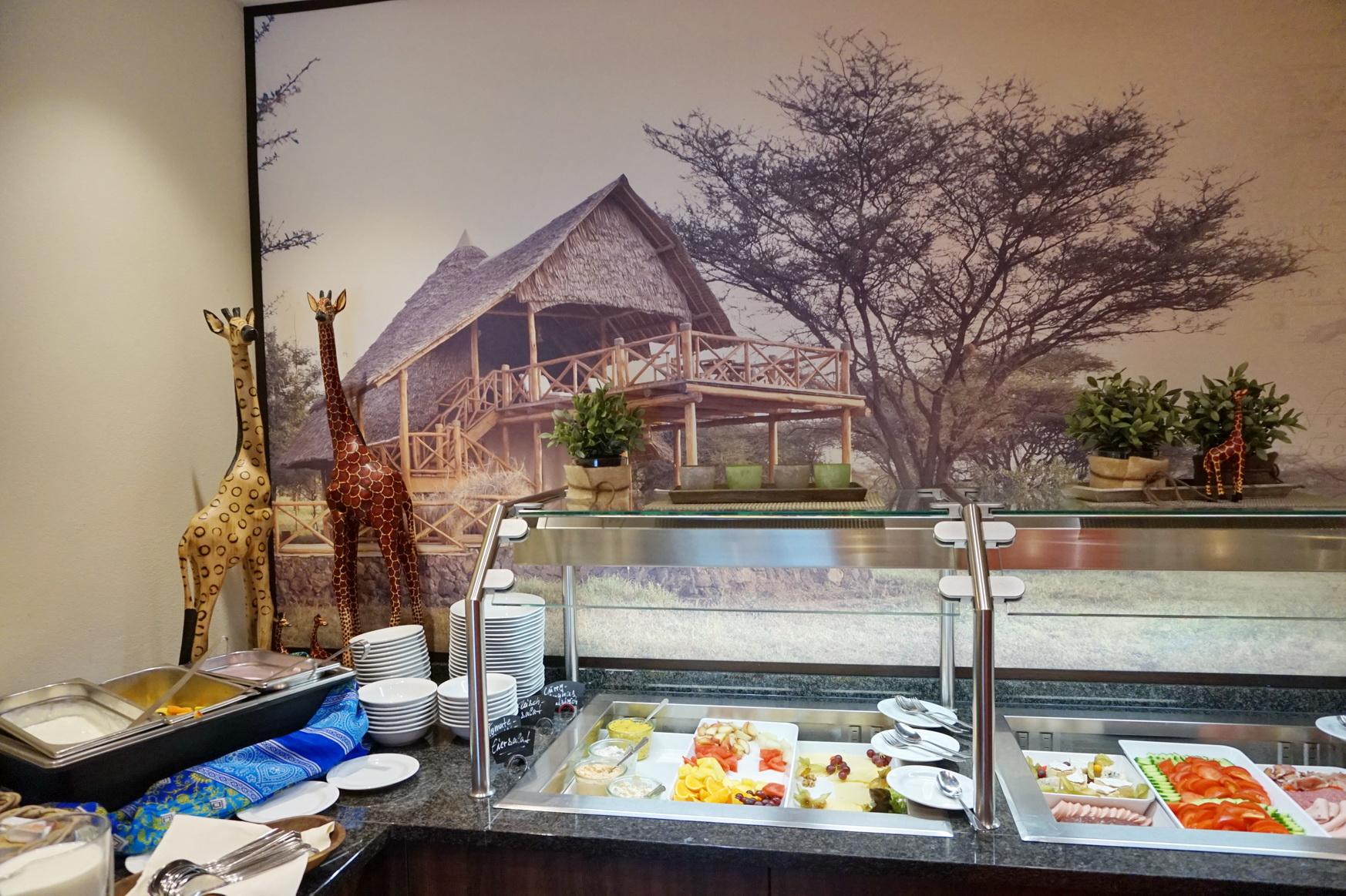 Frühstücksbuffet im Sunderland Hotel in Sundern im Sauerland