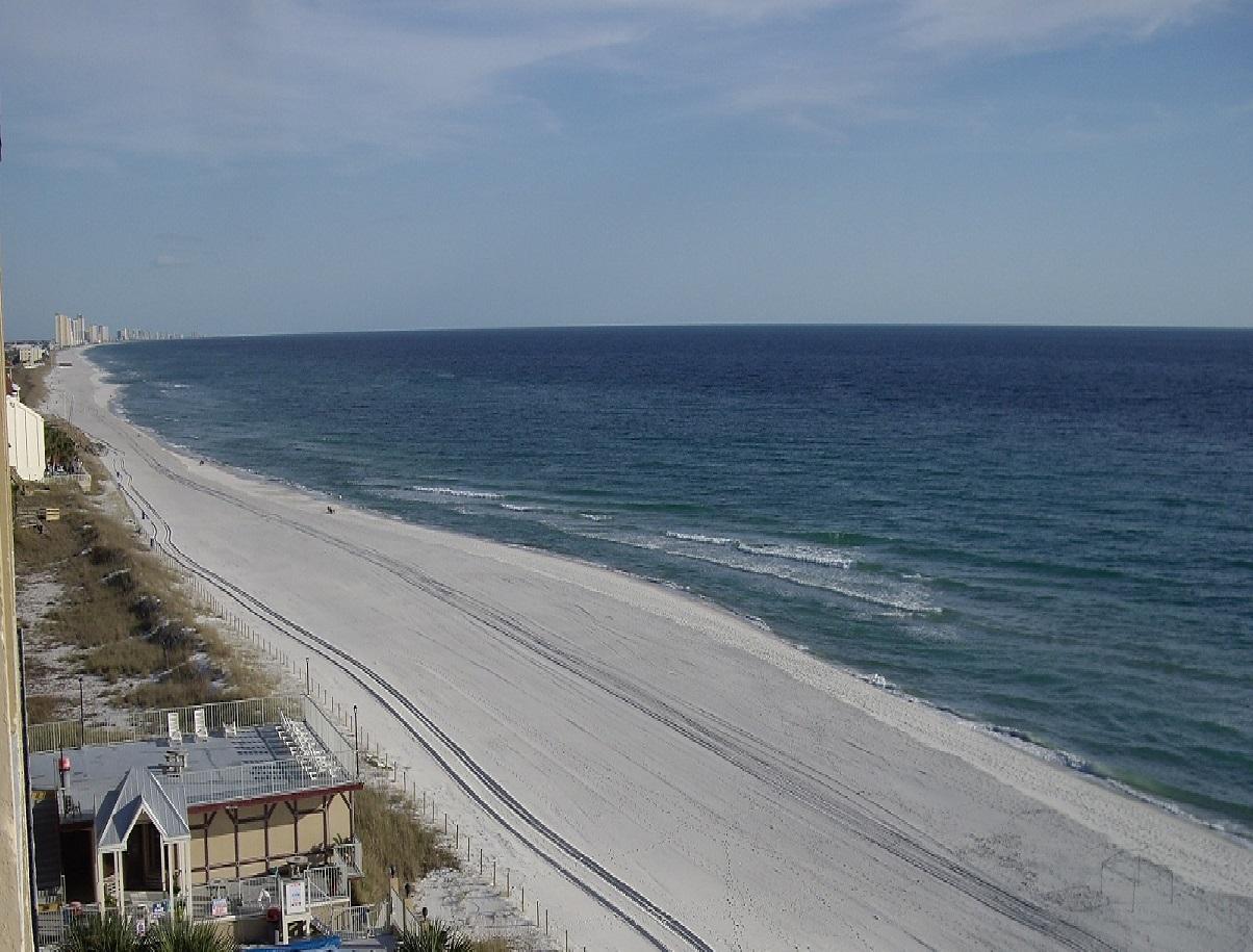 ... am Strand von Florida ...