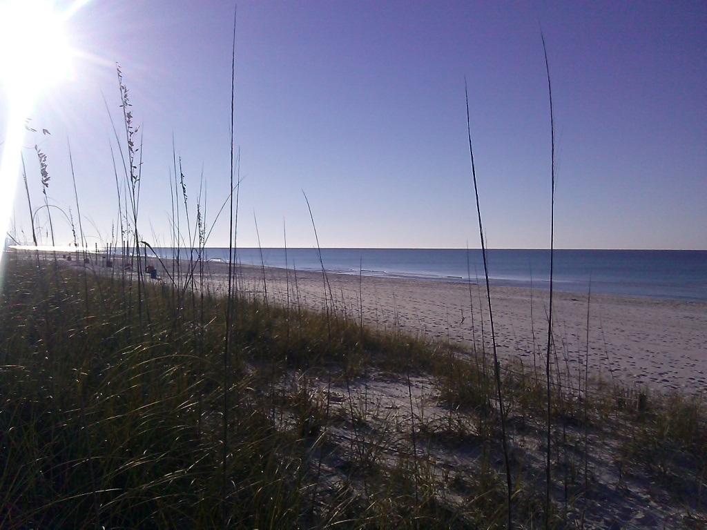 Strandabschnitt vor der Haustür