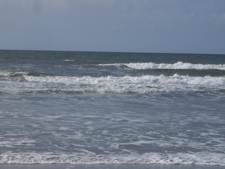 Blick auf den Atlantik von den USA – … sieht genauso aus wie von der europäischen Seite ... :- ) ...