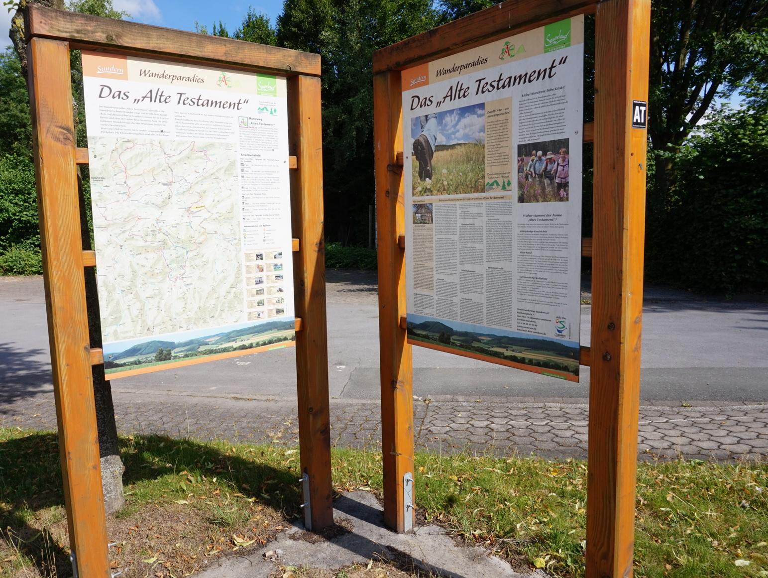 Wandergebiet Altes Testament Sauerland 1