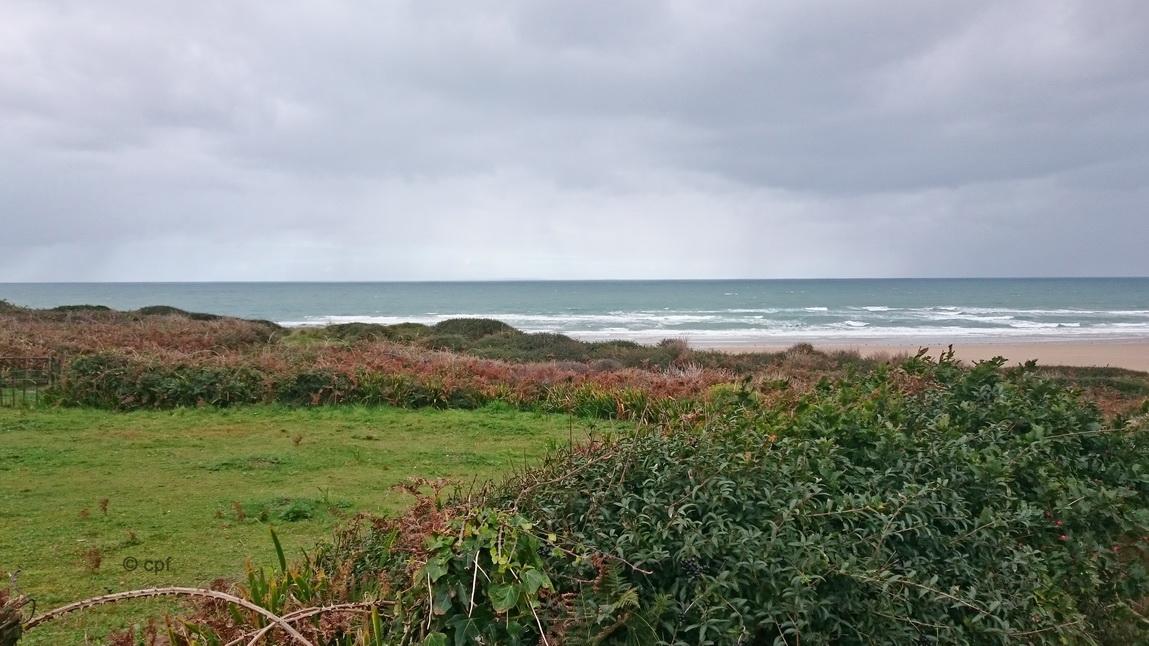Großartige Ausblicke über die Dünen bis zum Strand