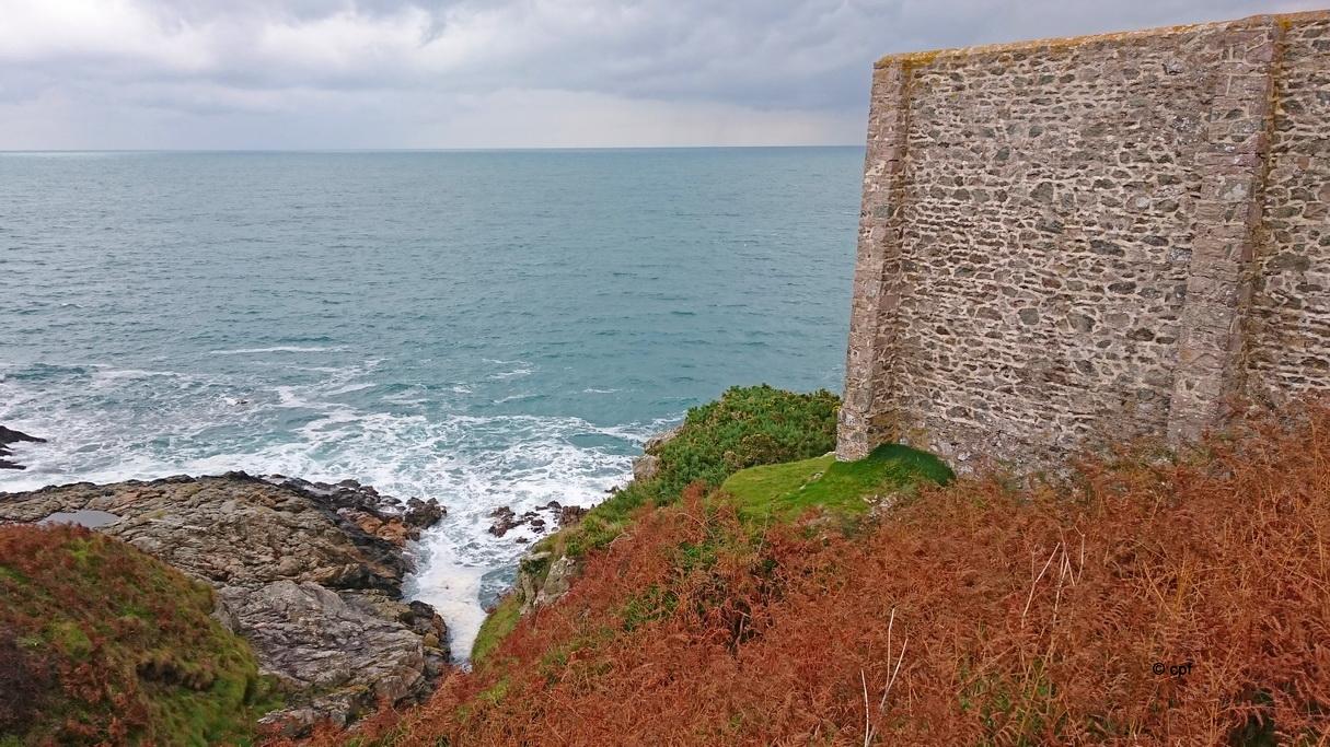Aussichtspunkt in der Nähe des Geburtshauses des französischen Malers Jean-Francois Millet.