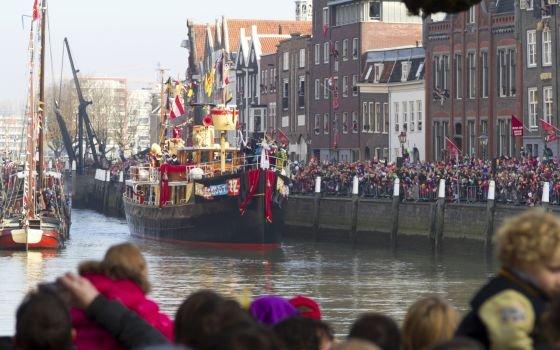 Ankunft von Sinterklaas Copyright Foto: Niederländisches Büro für Tourismus & Convention