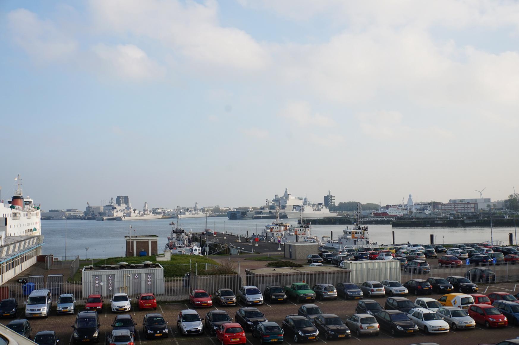 Der Fährhafen von Den Helder