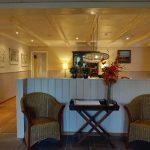Wer Lust hat, kann sich im Gästebuch des Hotel Prins Hendrik eintragen