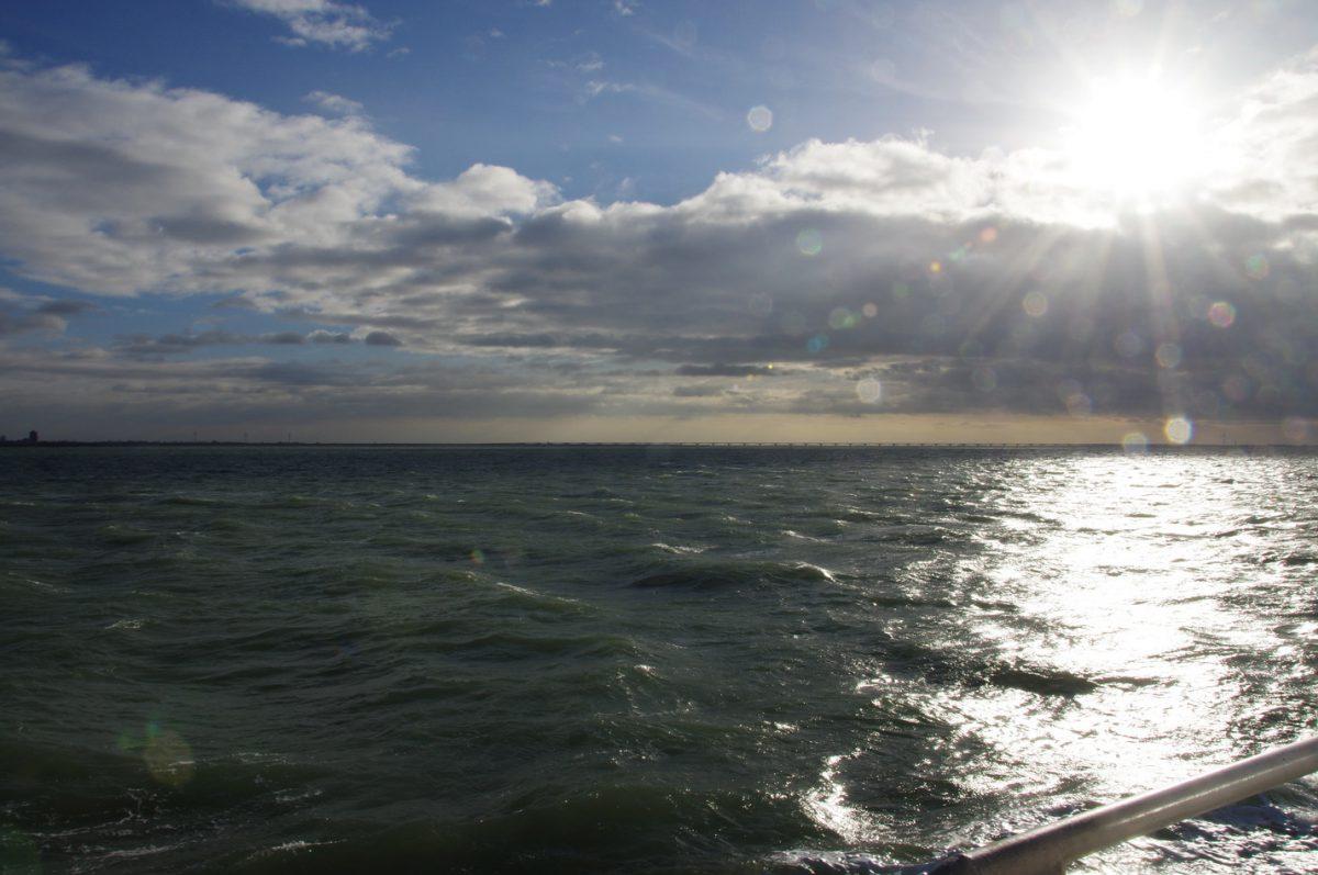 Von einem wütenden Wassermann, Austern und jeder Menge Wind