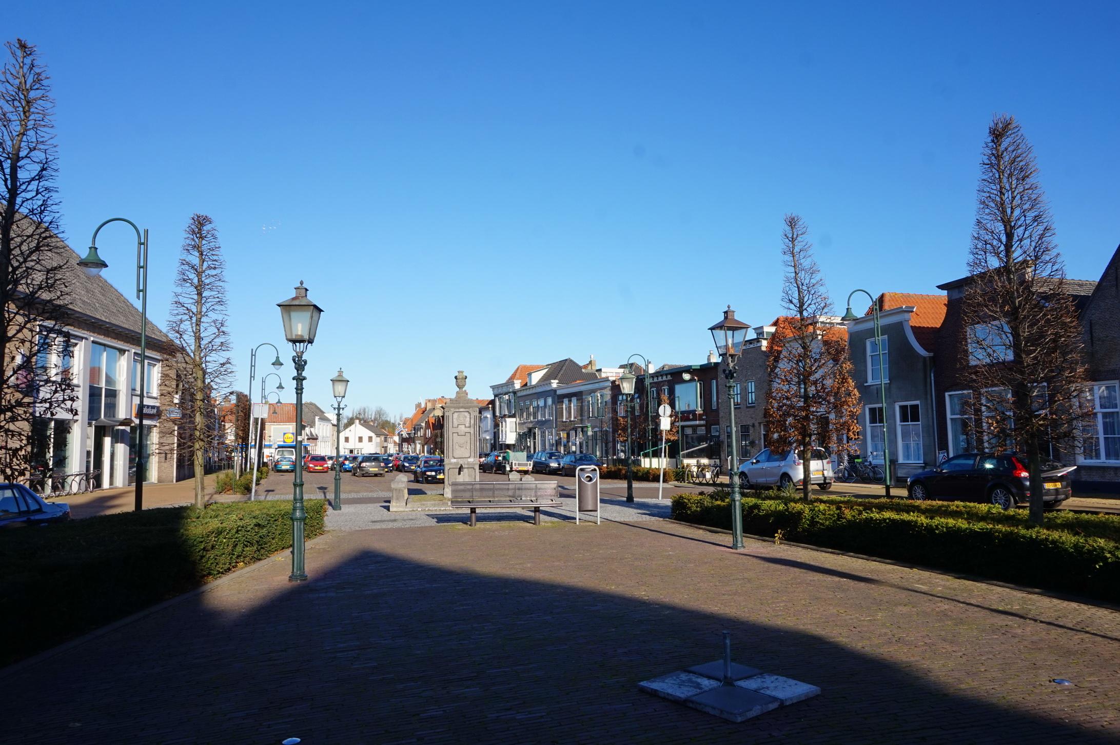 Sint-Maartensdijk war früher einmal ein Hafenstädtchen