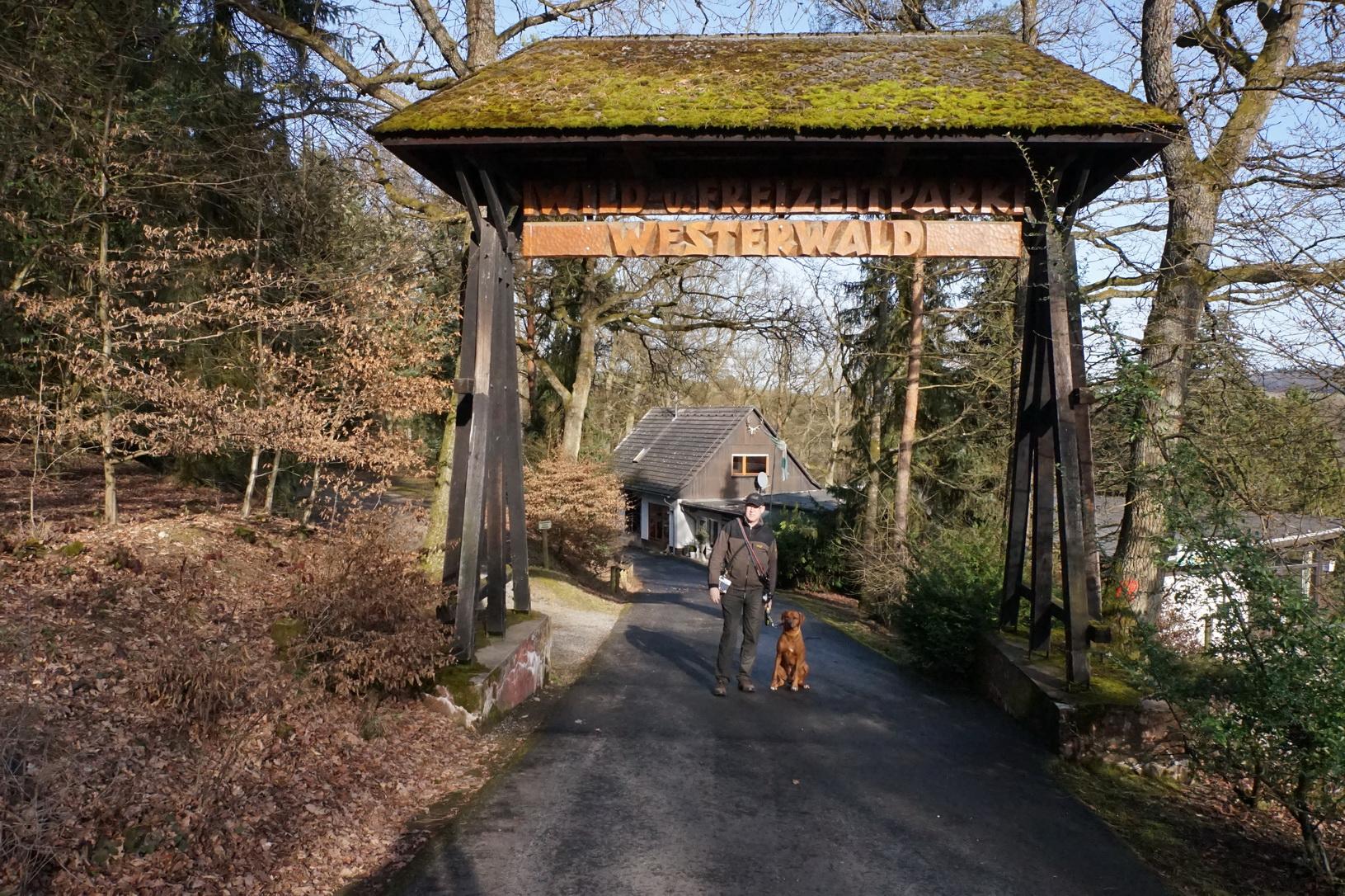 Der Wild- und Freizeitpark in Gackenbach ist eines der hundefreundlichen Ausflugsziele im Westerwald