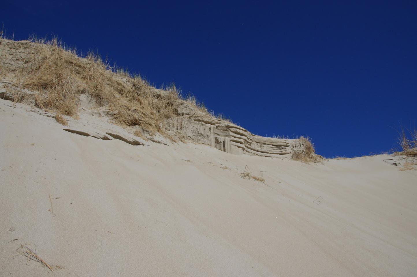 Bizarre Sandformationen ...