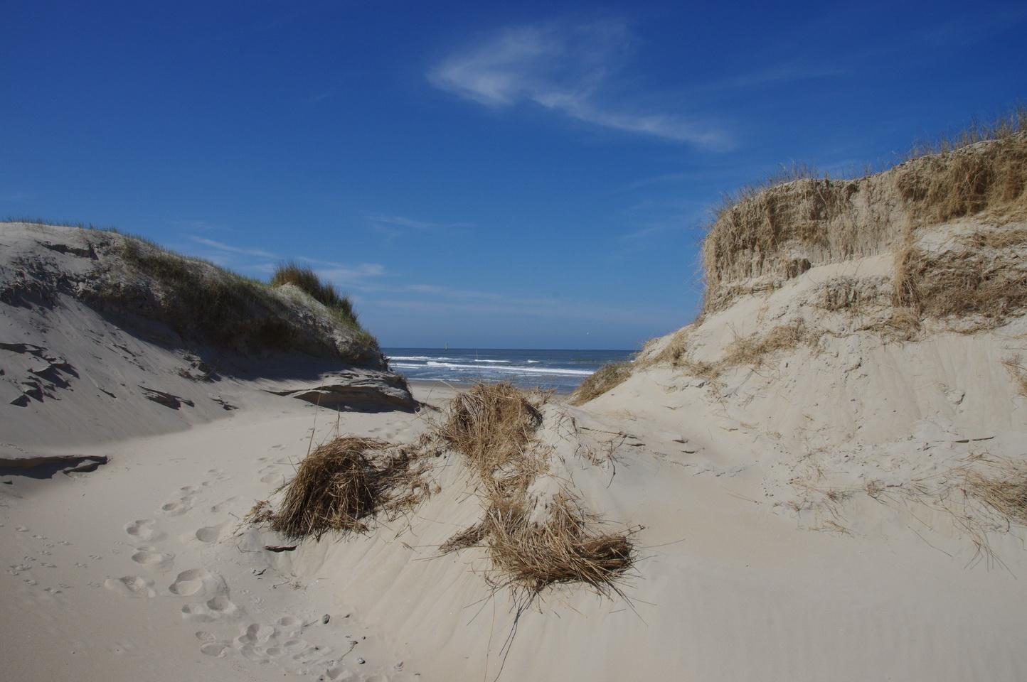 ... und immer wieder fantastische Strandausblicke ...
