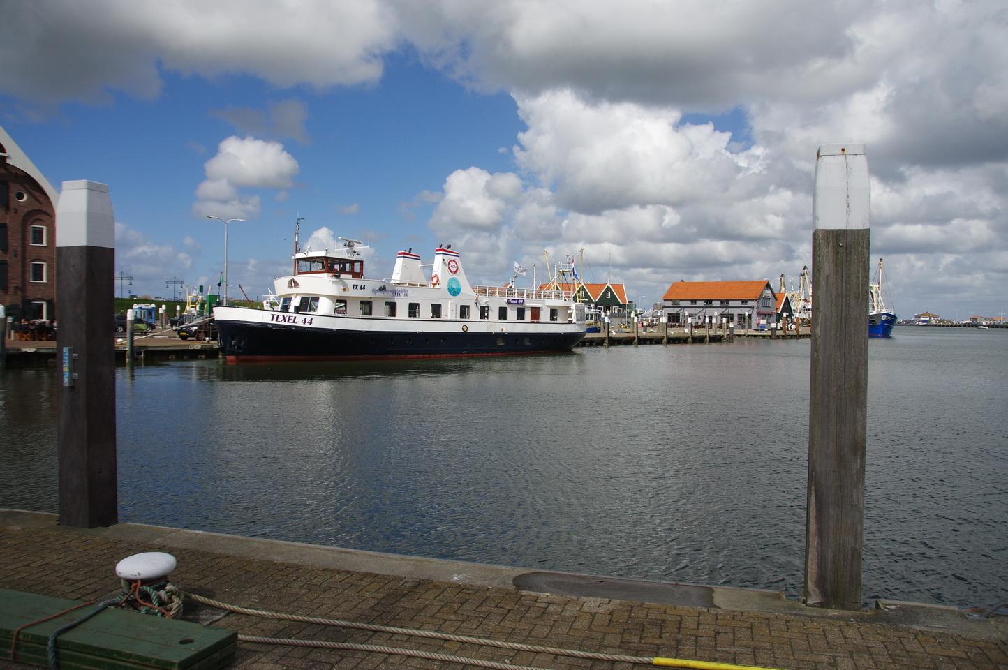 Die Texel 44 im Hafen von Oudeschild