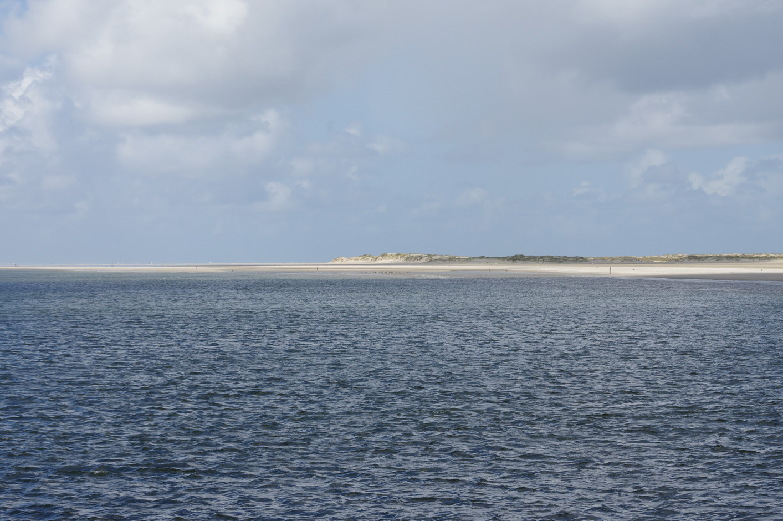 Blick auf den Strand am Naturschutzgebiet von De Hors