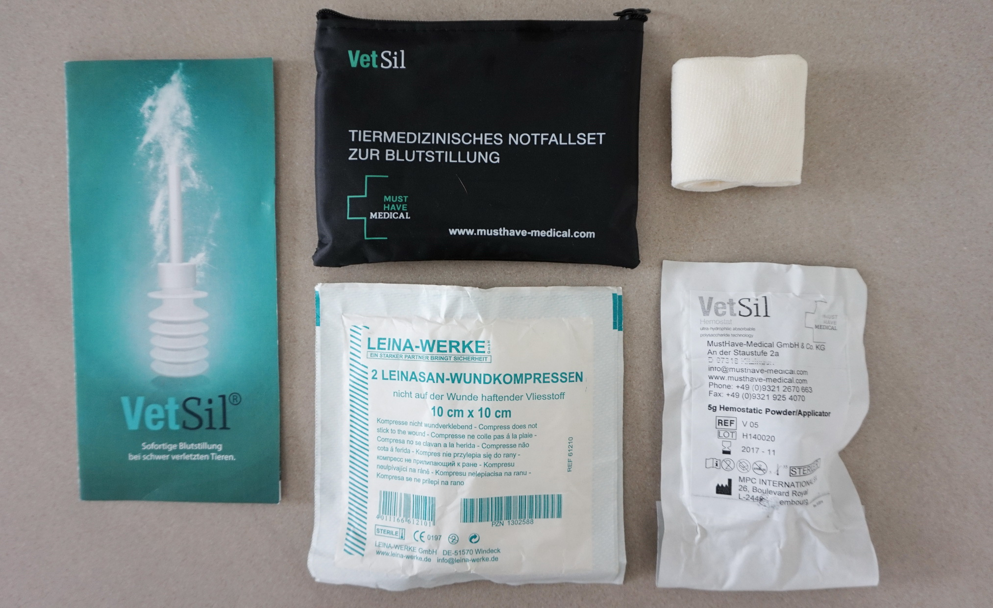 VetSil Notfallset 3