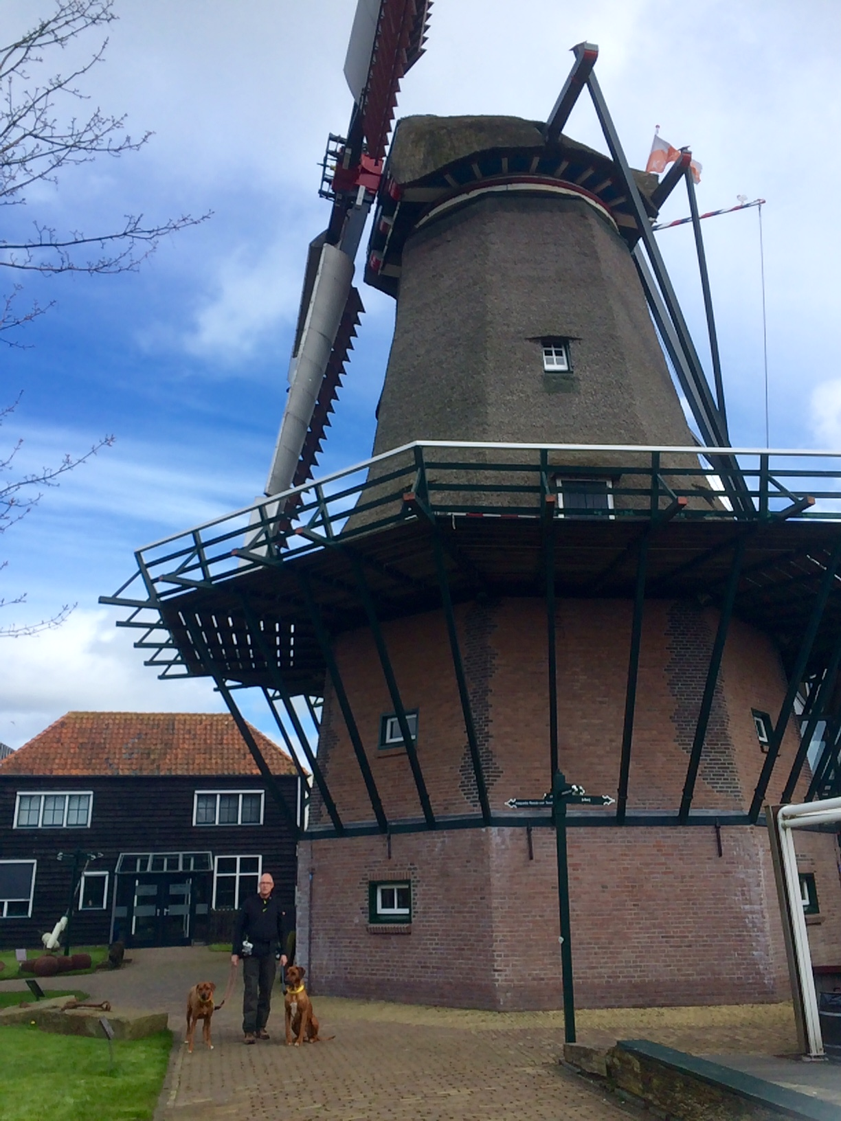 Texel - Museum Kaap Skil Dayo und Suri 2