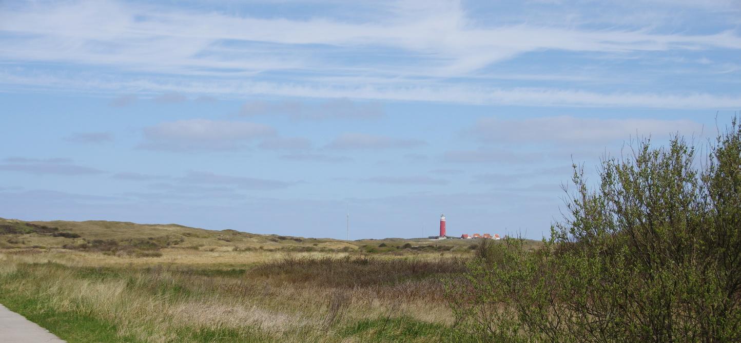 Texel - Strandspaziergang Leuchtturm TH 15