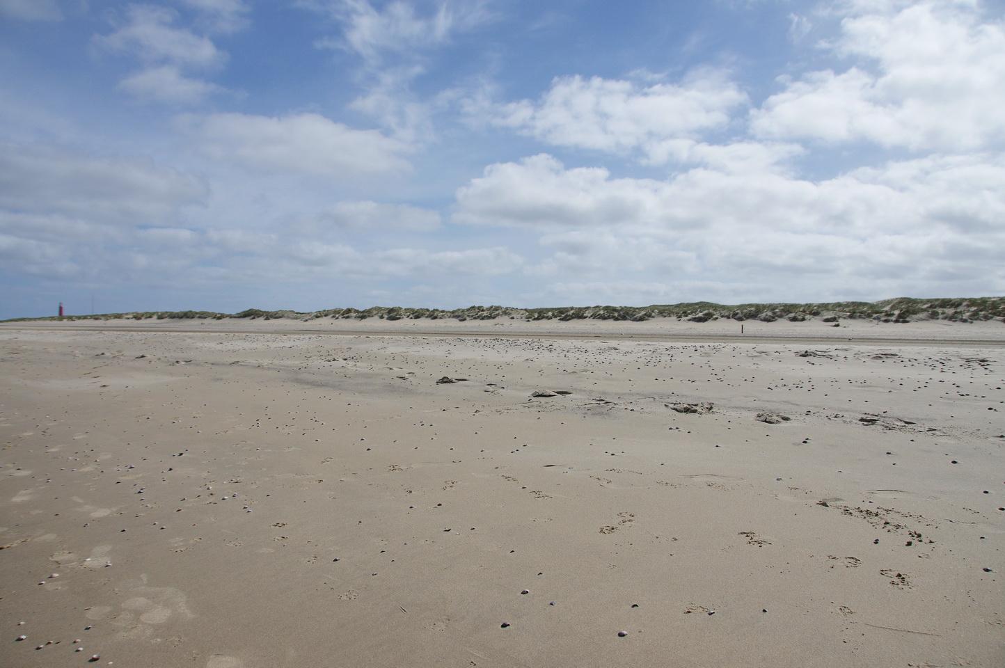 Texel - Strandspaziergang Leuchtturm TH 2