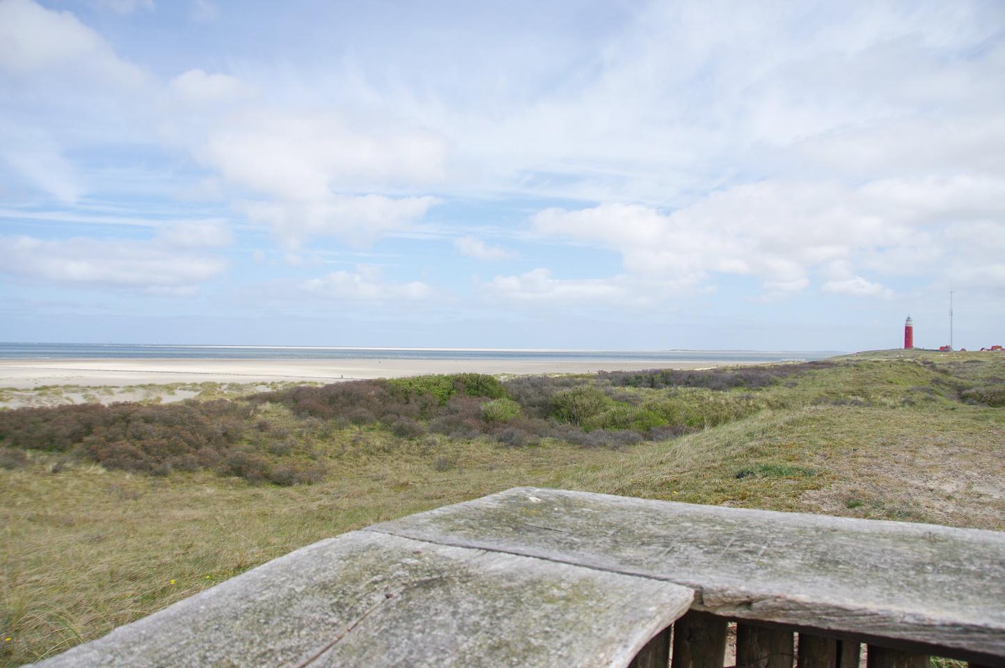Texel - Strandspaziergang Leuchtturm TH 6