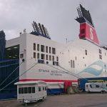 Stena Line-Fähre Heck