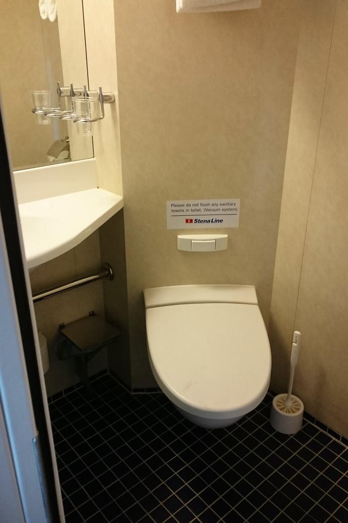 Badezimmer auf der Stena Line
