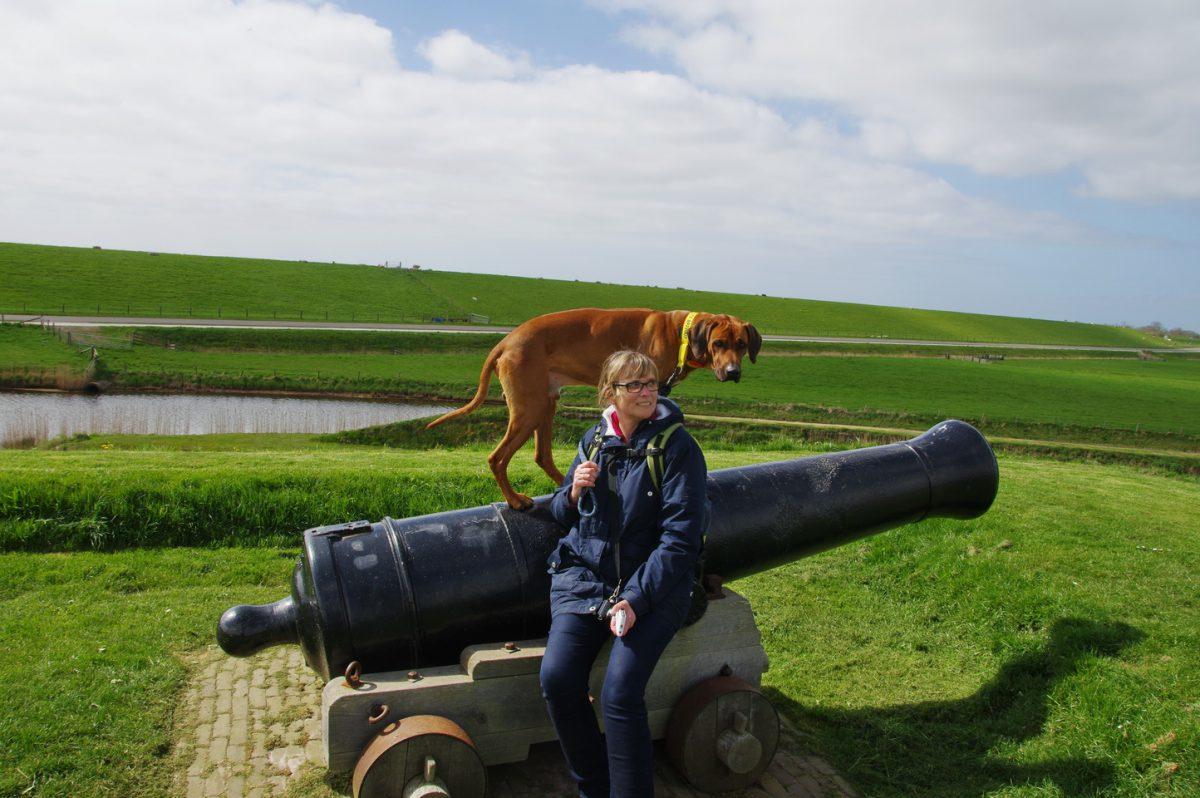 Wandern auf Texel - zwei auf einen Streich